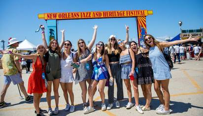 Nola Jazz Fest >> New Orleans Jazz Heritage Festival 2019 Festicket