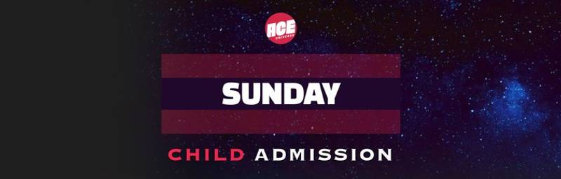 Sunday Child Admission Ticket, ACE Comic Con Seattle 2019