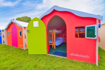 Bunkpad en Ultra Beachville Campsite