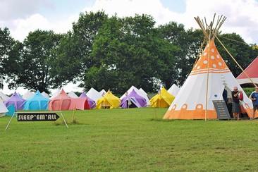 Vodafone Paredes de Coura - Sleep'em'All Camping - Tipi