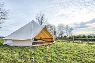 Luxury Bell Tent at NASS Festival