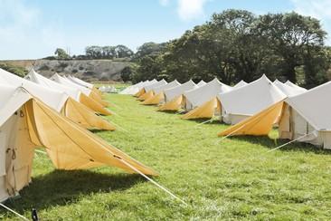 Standard Bell Tent at NASS Festival
