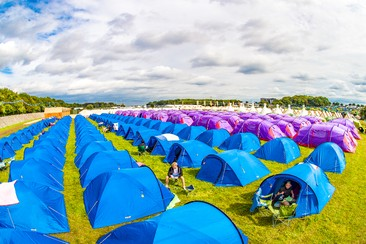 Pre-Pitched Tent at Latitude Festival
