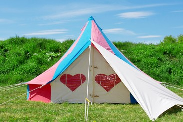 Standard Bell Tent at Bluedot Festival