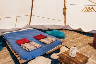 Luxury Tipi Tent | Boutique Camping @ Rewind Scotland