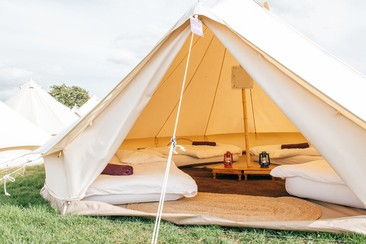 Classic Bell Tent | Boutique Camping @ Rewind Scotland