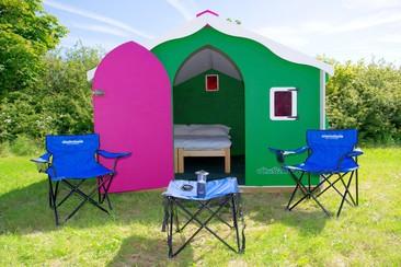 Luxpad beim Ultra Beachville Campsite