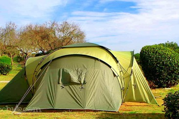 Tent Pitch + Shuttle at Camping 3 Estrellas