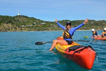 Byron Bay Dolphin Sea Kayak-Tour
