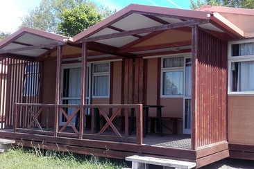 Bungalow at Camping Deva Gijón