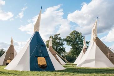 Classic Tipi Tent | Boutique Camping @ Rewind North