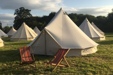 Bell Tent at Noisily Festival