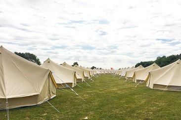Bell Tent at Gloworm