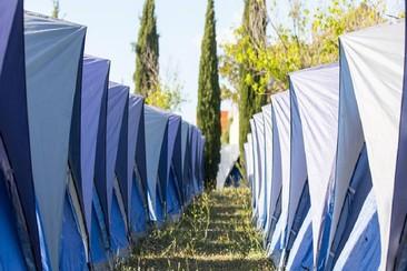 Easy Tent Deluxe @ Villacamp
