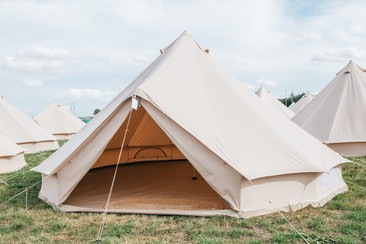 Standard Bell Tent | Boutique Camping @ Rewind North