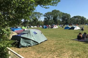 Tent Pitch @ Camping Francofolies