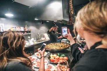 Lezione di cucina spagnola a Barcellona