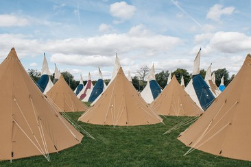 Standard Tipi Tent | Boutique Camping @ Rewind North