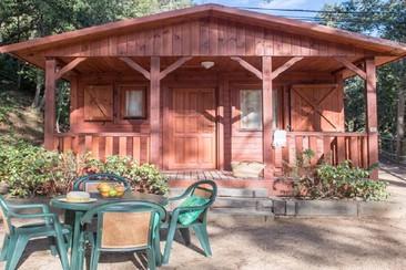 Sea Green Camping - Comfort Chalet en Camping Cala Llevado
