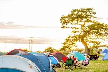 Pre-Pitched Tent Package at NASS Festival