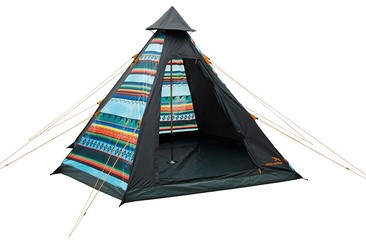 4 Person Tipi Tent at Earth Garden
