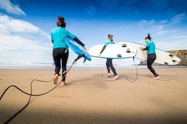Meio dia de Surf