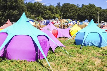 Campeggio Sleep'em'All - Tenda Lotus a NEOPOP