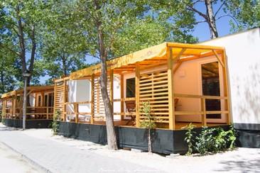 Strandhaus Premium beim Ultra Beachville Campsite