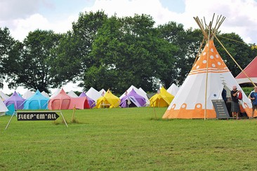 Musilac - Sleep'em'All Camping - Tipi