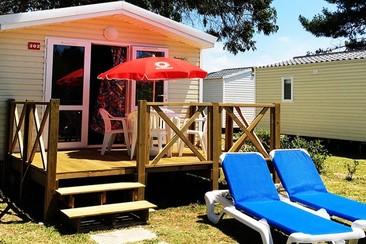 Pacchetto Mobile Home Venus + Navetta nel Campeggio Orbitur