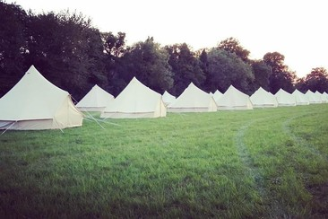 Simple Bell Tent @ Goatfest