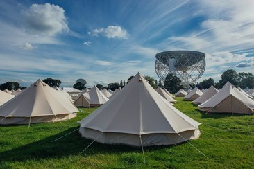 Classic Bell Tent at Bluedot Festival