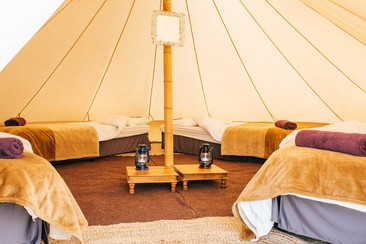 Premium Bell Tent | Boutique Camping @ Rewind North