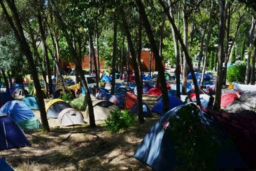 Tent Pitch at Lisboa Camping & Bungalows