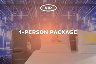 ASOT Hotel Package - Single Pack VIP Access (1-Person)