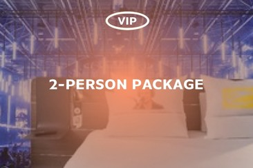 ASOT Hotel Package - Double Pack VIP Access (2-Person)