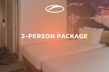 ASOT Hotel Package - Double Pack General Access (2-Person)
