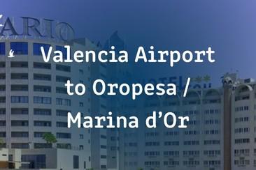 Transfert privé I'Way, aller simple : aéroport de Valence - Oropesa / Marina d'Or (Benicàssim)