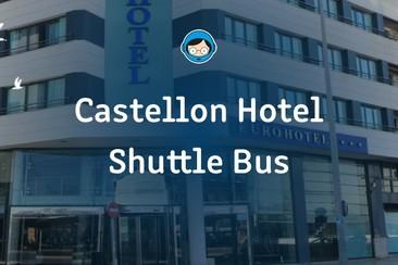 Shuttle-Pass vom Castellon Hotel nach Benicassim