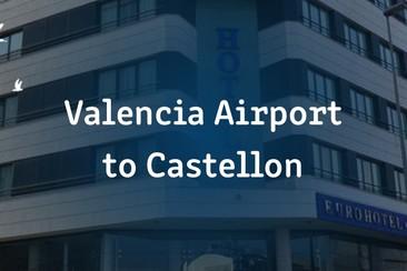 Einfacher I'Way Transfer - Flughafen Valencia nach Castellon (Benicassim)