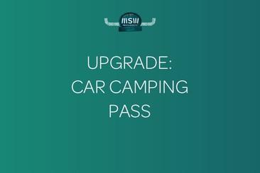 Upgrade: Car Camping Pass