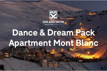 Pass Festival + Appartement Mont Blanc