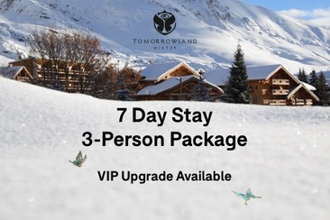 3 x Festival Tickets + 3-Person Room at Club Med Resort La Sarenne