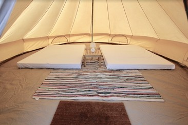 Classic Bell Tent at Isle of Wight Festival