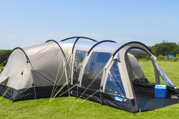 Pre-Pitched Tent Bundle at Bluedot Festival