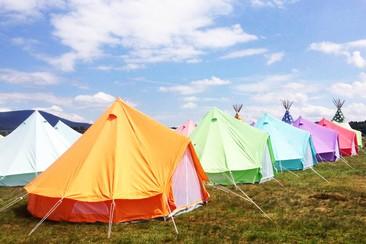 Sleep'em'All Camping - Blue Tent no NEOPOP