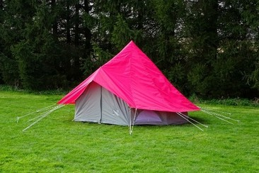 Bell Tent at Isle of Wight Festival