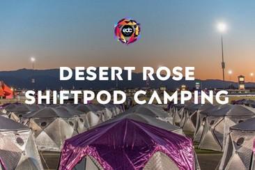 Desert Rose Shiftpod Camping