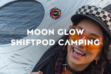 Moon Glow Shiftpod Camping