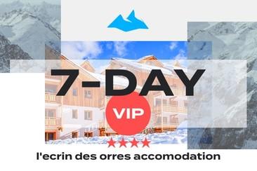 7 Day VIP Package + 4* L'Ecrin des Orres Accomodation